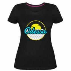 Женская стрейчевая футболка Odessa vector