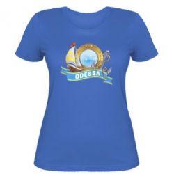 Женская футболка Одесса