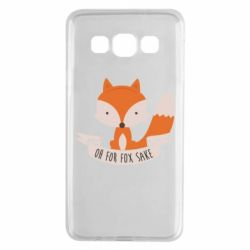 Чехол для Samsung A3 2015 Of for fox sake - FatLine