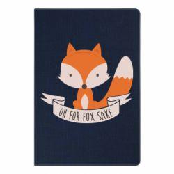 Блокнот А5 Of for fox sake - FatLine
