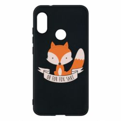 Чехол для Mi A2 Lite Of for fox sake - FatLine