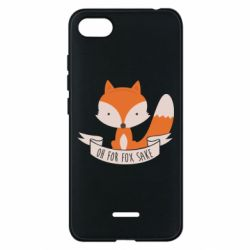 Чехол для Xiaomi Redmi 6A Of for fox sake - FatLine