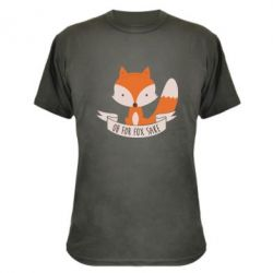 Камуфляжная футболка Of for fox sake