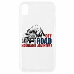 Чохол для iPhone XR Off Road mountain adventure