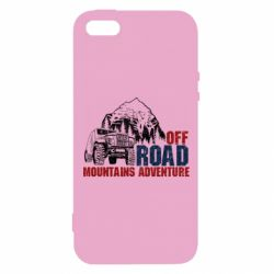 Чохол для iphone 5/5S/SE Off Road mountain adventure