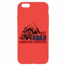 Чохол для iPhone 6/6S Off Road mountain adventure