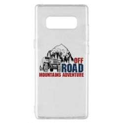 Чохол для Samsung Note 8 Off Road mountain adventure