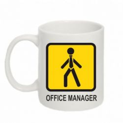Кружка 320ml Office Manager - FatLine
