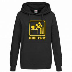 Женская толстовка Office Party - FatLine