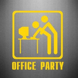 Наклейка Office Party - FatLine