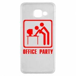 Чехол для Samsung A3 2016 Office Party