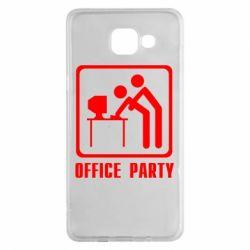 Чехол для Samsung A5 2016 Office Party