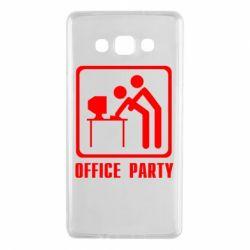 Чехол для Samsung A7 2015 Office Party