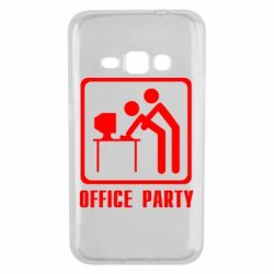 Чехол для Samsung J1 2016 Office Party