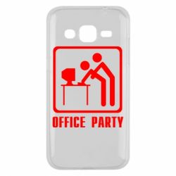 Чехол для Samsung J2 2015 Office Party