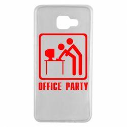 Чехол для Samsung A7 2016 Office Party