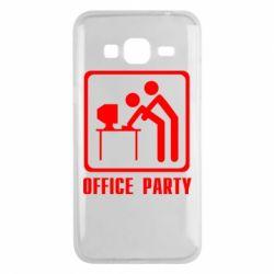 Чехол для Samsung J3 2016 Office Party