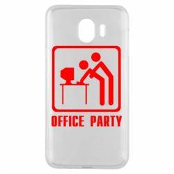 Чехол для Samsung J4 Office Party