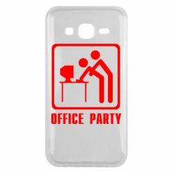Чехол для Samsung J5 2015 Office Party