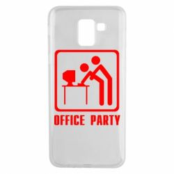 Чехол для Samsung J6 Office Party