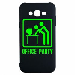 Чехол для Samsung J7 2015 Office Party