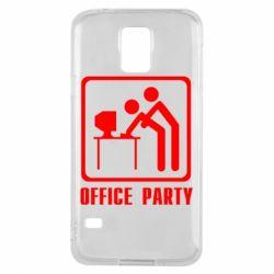 Чехол для Samsung S5 Office Party