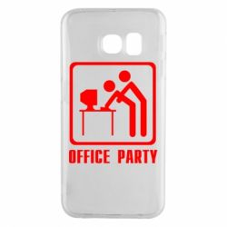 Чехол для Samsung S6 EDGE Office Party