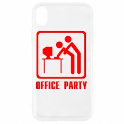 Чохол для iPhone XR Office Party