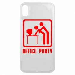 Чохол для iPhone Xs Max Office Party