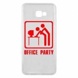 Чехол для Samsung J4 Plus 2018 Office Party