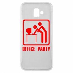 Чехол для Samsung J6 Plus 2018 Office Party