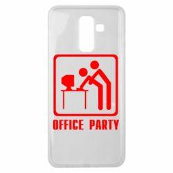 Чехол для Samsung J8 2018 Office Party