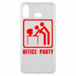 Чехол для Samsung A6s Office Party