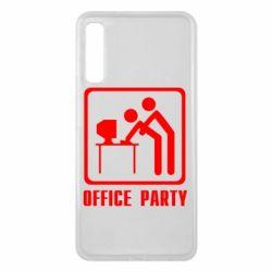 Чехол для Samsung A7 2018 Office Party