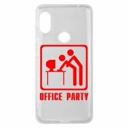 Чехол для Xiaomi Redmi Note 6 Pro Office Party