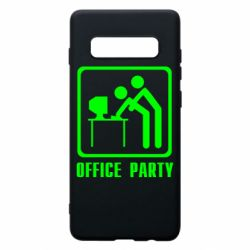 Чехол для Samsung S10+ Office Party