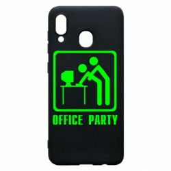 Чехол для Samsung A20 Office Party