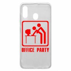 Чехол для Samsung A30 Office Party