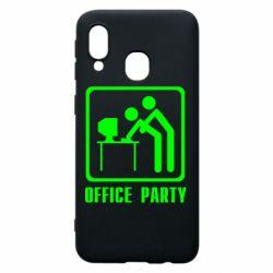 Чехол для Samsung A40 Office Party