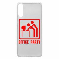Чехол для Samsung A70 Office Party