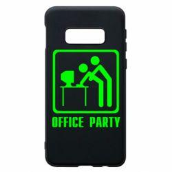 Чехол для Samsung S10e Office Party