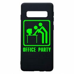 Чехол для Samsung S10 Office Party