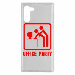 Чохол для Samsung Note 10 Office Party