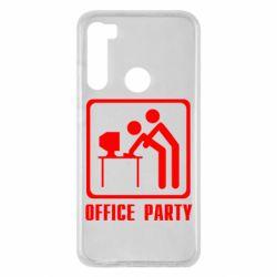 Чехол для Xiaomi Redmi Note 8 Office Party