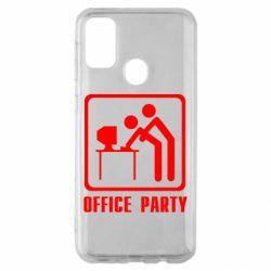 Чехол для Samsung M30s Office Party
