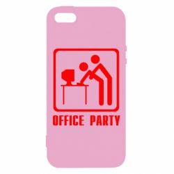 Купить Офисным работникам, Чехол для iPhone5/5S/SE Office Party, FatLine