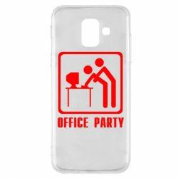 Чехол для Samsung A6 2018 Office Party