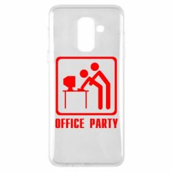 Чехол для Samsung A6+ 2018 Office Party