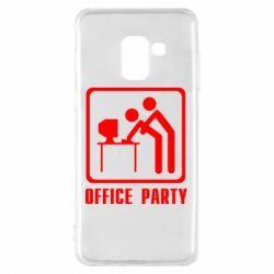Чехол для Samsung A8 2018 Office Party