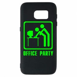 Чехол для Samsung S7 Office Party